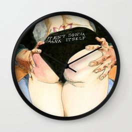 NUDEGRAFIA - 021 THE UNICORN Wall Clock