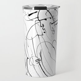 Therapy - b&w Travel Mug