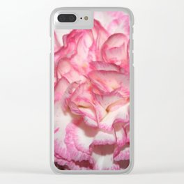 Carnation Creation Clear iPhone Case