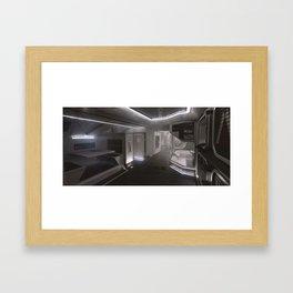 Sci-fi Interior Framed Art Print