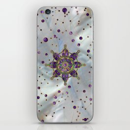 Dharma Wheel  - Dharmachakra iPhone Skin