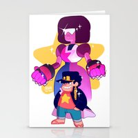 johannathemad Stationery Cards featuring steven and his stand by JohannaTheMad