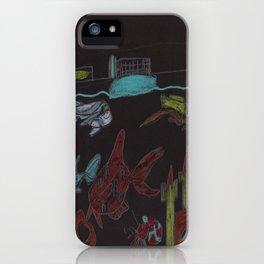 NightTime Aquarium iPhone Case