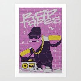 Rap Tapes Art Print