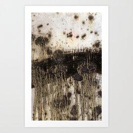 Love Hate Mirror 2/7 Art Print