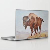 buffalo Laptop & iPad Skins featuring Buffalo by TheWildPlum