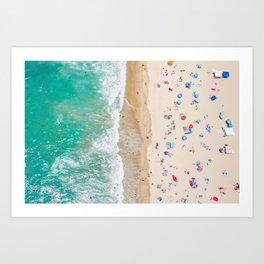 Colors of Manhattan Beach California Art Print