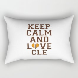 LOVE CLE BROWNS II Rectangular Pillow