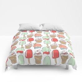 Ice Cream Cart Comforters