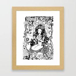 La prima vez Framed Art Print