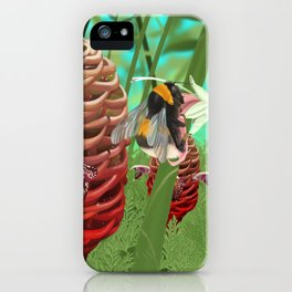 Honeycomb Ginger iPhone Case