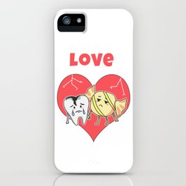 Funny Love Gift, Forbidden Love, Love Pun, Gift for Candy Lover iPhone Case