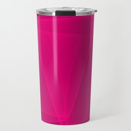 Abstract #4 (Fuchsia/DarkMagenta) Travel Mug