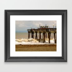 Sea Side II Framed Art Print