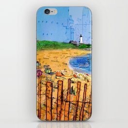 Summer down the Cape iPhone Skin