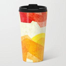 C13D Abstract Metal Travel Mug