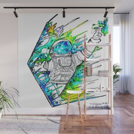 Space Cadet Wall Mural