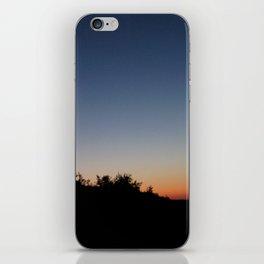 Treeline at Dusk iPhone Skin