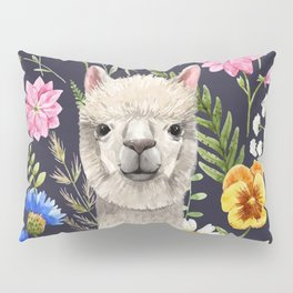 Wildflower Alpaca Pillow Sham