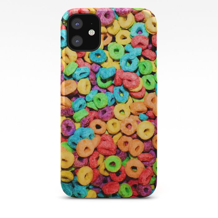 Fruit Loops Cereal IPhone Case By Chancecarter