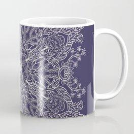 Spring Garden Mandala Ultra Violet Coffee Mug