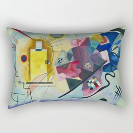 Wassily Kandinsky Geometric Composition Rectangular Pillow