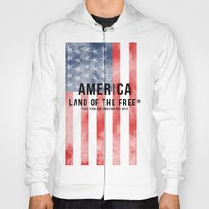 America: Land of the Free*  Hoody