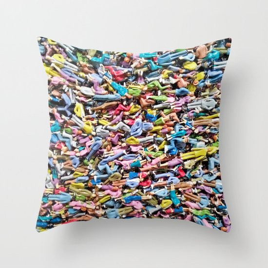 United Wee Crowd Throw Pillow