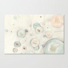 baby bubbles Canvas Print