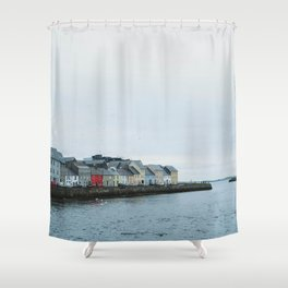 Galway, Ireland Long Walk Shower Curtain