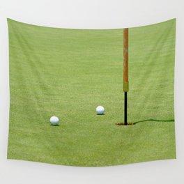 Golf Pin Wall Tapestry