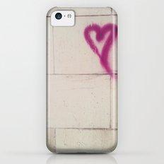 Graffiti Heart iPhone 5c Slim Case