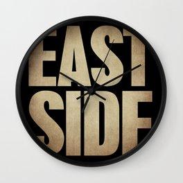 Eastside Wall Clock