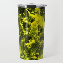 Yellow Abstract Travel Mug