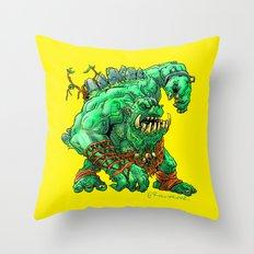 Straight Trollin' Throw Pillow