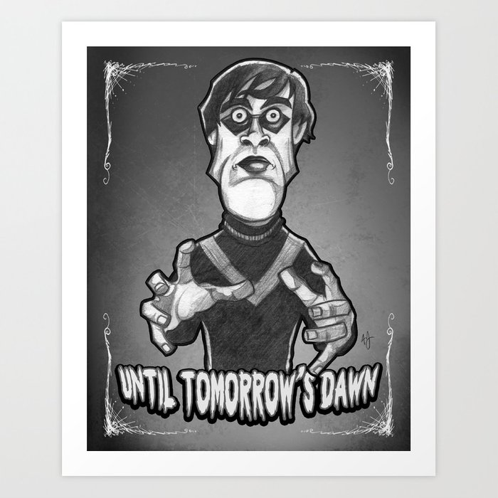 Cesare From The Cabinet Of Dr Caligari 1920 Art Print By