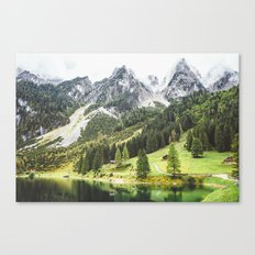 Alps in Austria. Canvas Print