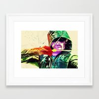 green arrow Framed Art Prints featuring Green Arrow, Arrow by iamcrime