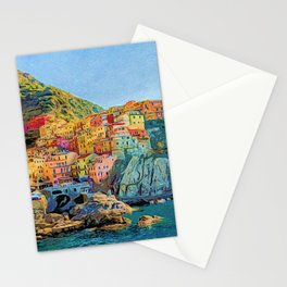 Cinque Terre, Italy | Painting Stationery Cards