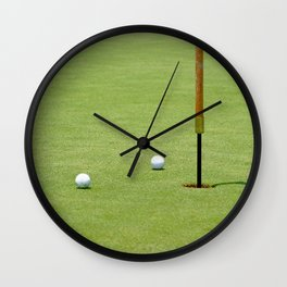 Golf Pin Wall Clock