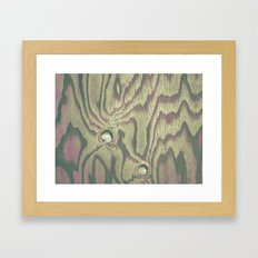 Painted Wood #2 Framed Art Print