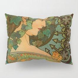 "Alphonse Mucha ""Ivy"" Pillow Sham"