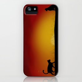 Coming back home iPhone Case
