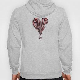 Frayed Heart Hoody