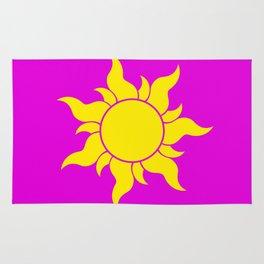 TANGLED SUN SYMBOL Rug