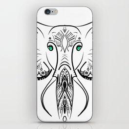 Elephant Zen Doodle iPhone Skin