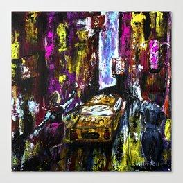 City Chaos Canvas Print