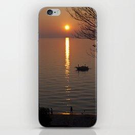 Lonely Michigan Sunset iPhone Skin