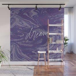 Violet Dream Fantasy Wall Mural