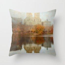 Elegance of Yesterday Throw Pillow